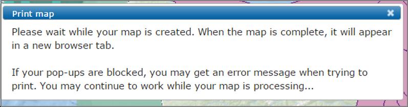 Print Export Map 3